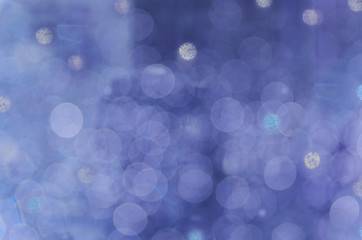 Abstract circular bokeh violet background