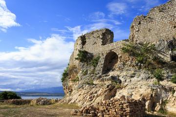 Novigrad, Dalmatia, Croatia. Old defence fort