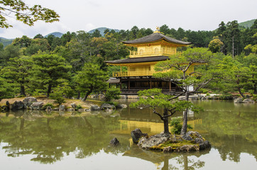 Kinkaku-ji Temple in Kyoto, Japan