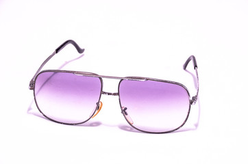 Old Vintage 80's Style Sunglasses
