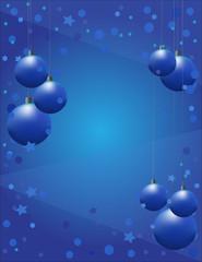 "vector bakcground ""New Year"" in blue tones"