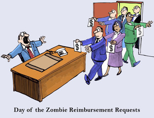 Day of the Zombie Reimbursement Requests
