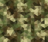 Fototapety Abstract Vector Military Camouflage Background