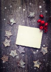 Christmas postcard.
