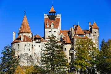 The Castle of Bran, known for the myth of Dracula, Transylvania