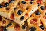 Focaccia pugliese - Fresh baked focaccia bread