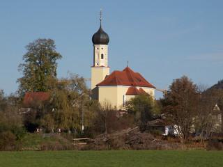 Bayern - Sankt Georgkirche Bichl