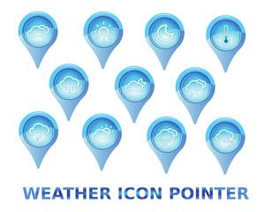 icone meteo set