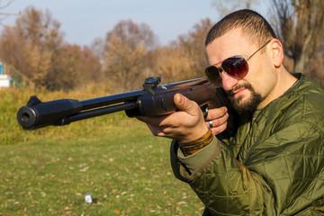 Стрелок из оружия, стрельба