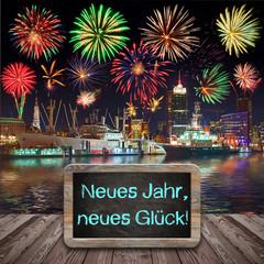 Tafel - Neues Jahr, neues Glück!
