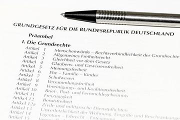 Deutsches Grundgesetz