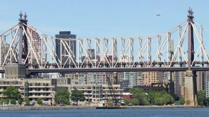 queensboro bridge manhattan start 4k time lapse from new york