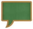 Speech bubble chalkboard
