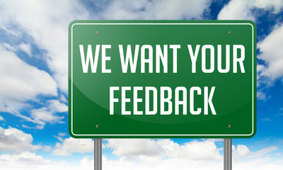 We Want Your Feedback on Highway Signpost.