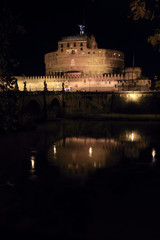 Castle of Holy Angel in Rome