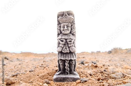 Ancient Maya Statue - 73117443