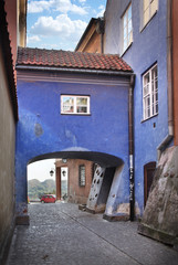 Narrow streets of Old Town, Warsaw
