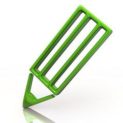 Green pencil icon