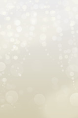 Holiday Abstract Defocused Background With Blurred Bokeh