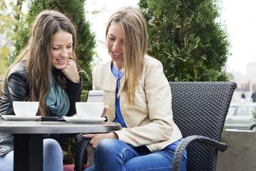 Smart pfone young women