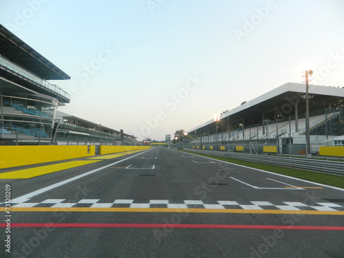 Staande foto Motorsport Formula 1, Start and Target
