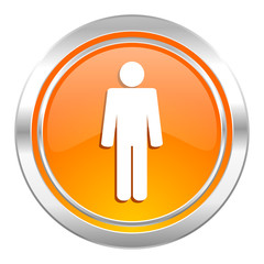 male icon, male gender sign