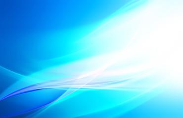 Bright blue vackground