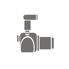 Icono cámara réflex perfil FB