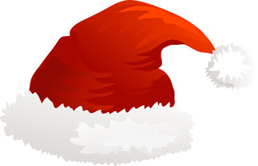 Christmas icon Santa hat