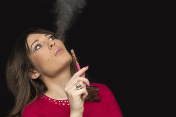 Electronic Cigarette and Smoke