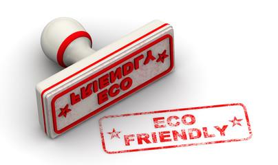 Экологичный (ECO friendly). Печать и оттиск