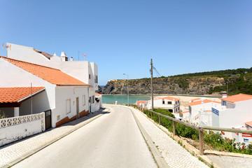 Praia de Odeceixe, Beach and village by the sea, Algarve