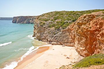 Praia do Beliche, Beach near Cabo Sao Vicente, Algarve Portugal