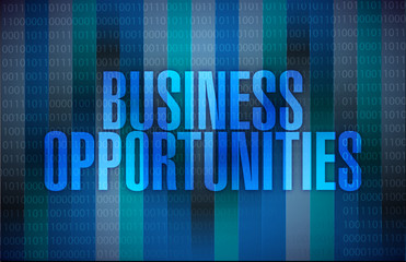 business opportunities message
