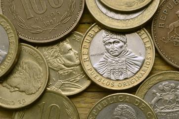 Peso chileno Chilean Cileno Chilenischer Chilien Чилийское песо