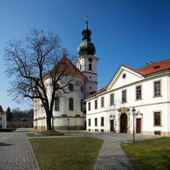 Brevnov monastery in Prague