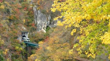 Ofukazawa Bridge over Naruko Gorge
