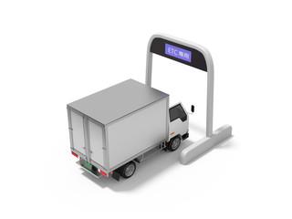 ETCとトラック