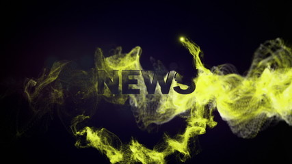 NEWS Text in Particles