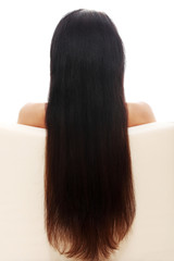Woman's long hair