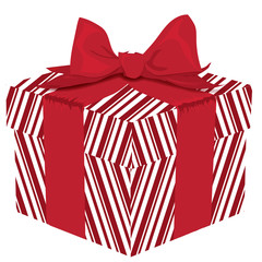 Red Striped Gift