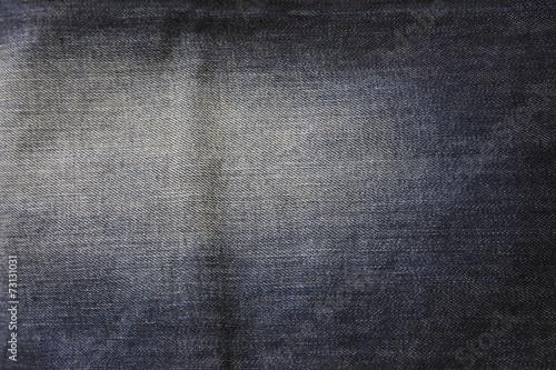 Fotobehang Stof Dark blue background jeans