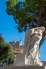 Roma, castel Sant'Angelo, veduta