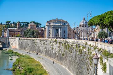 Roma, Tevere, scorcio