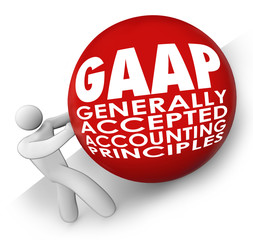 GAAP Generally Accepted Accounting Principals Accountant Rolling