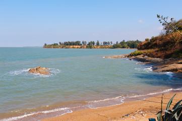 coastline of the kinmen island
