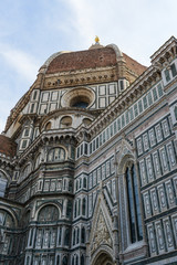 Duomo Basilica Cathedral Church in Florence Italy