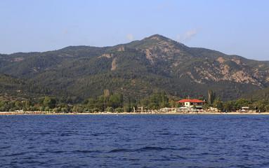 Beach of Neos Marmaras.