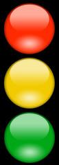 Symbol Patch Ampel 3D