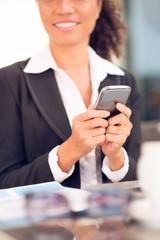 Using mobile phone
